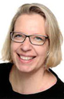 Das Foto zeigt ein Portrait von Sandra Gnaß