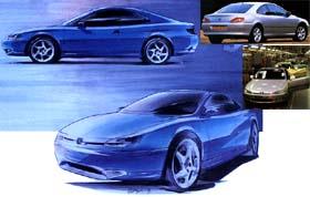 Développement du 406 coupé