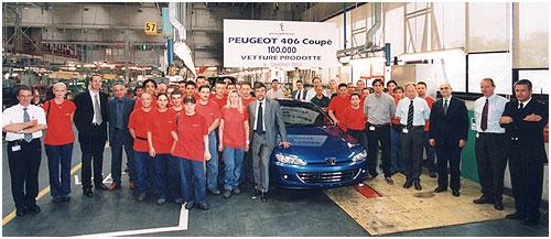 100 000° Peugeot 406 coupé