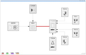 Wiring diagram request for parking sensors  Peugeot Forums
