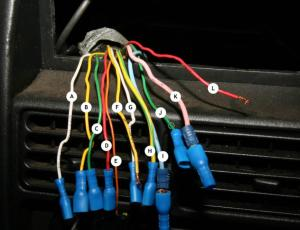 What colour wire ?  Peugeot Forums