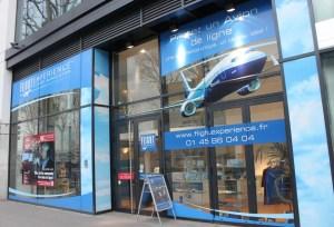 Flight Experience se trouve en plein Paris, au 21 quai d'Austerlitz