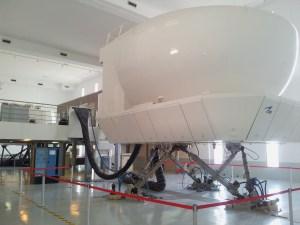 Le stage de Casablanca se fera sur un simulateur de vol en mouvement