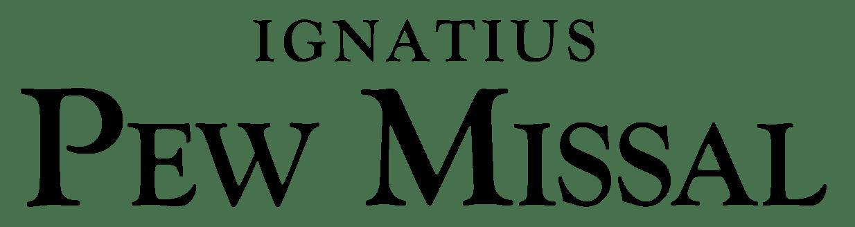 The Ignatius Pew Missal