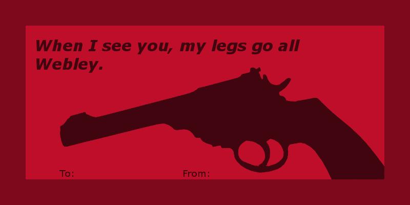 7 Cringeworthy Gun Pun Valentines Pew Pew Tactical
