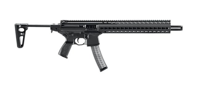 sig mpx competition pistol cailber carbine