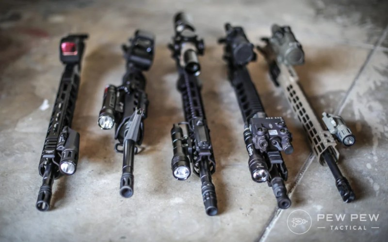 Tested AR-15 Flashlights