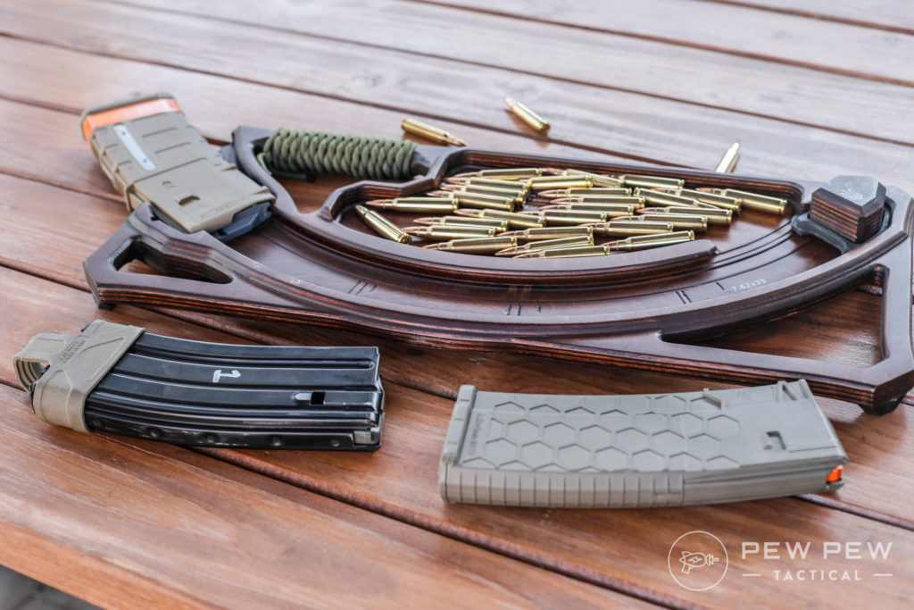 Podavach and Different Mags