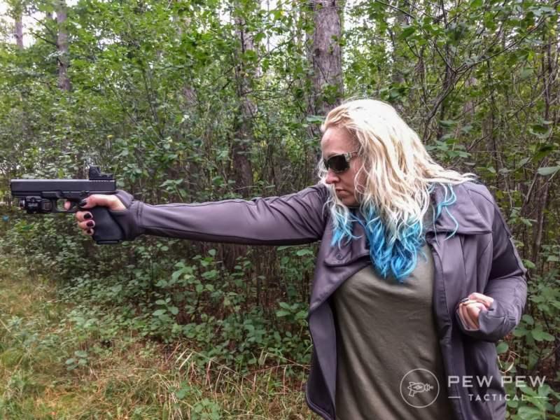 pew pew Glock 20
