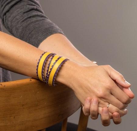Armband - Twist & Shout, pezolita