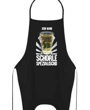 PFALZFANS Pfälzer Schorle-Weinfest-Barschürze Grillschürze SCHORLE-SPEZIALISCHD