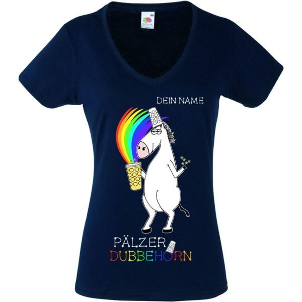 PFALZFANS Pfälzer Schorle-Weinfest-T-Shirt PÄLZER DUBBEHORN