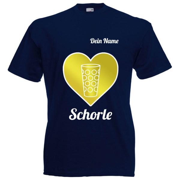 PFALZFANS Pfälzer Schorle-Weinfest-T-Shirt SCHORLE