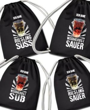 PFALZFANS Pfälzer Schorle-Weinfest-Turnbeutel Pälzer Schorlebeidel LIEBLINGSSCHORLE
