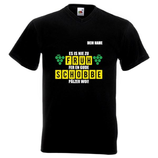 PFALZFANS Pfälzer PFALZFANS Pfälzer Schorle-Weinfest-T-Shirt FRÜHSCHOBBE Literarischer Frühschoppen