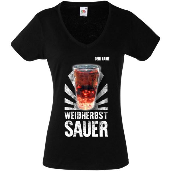 PFALZFANS Pfälzer Schorle-Weinfest-T-Shirt Lieblingsschorle Weißherbst sauer