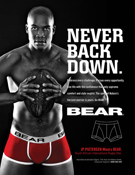 BEAR Underwear campaign