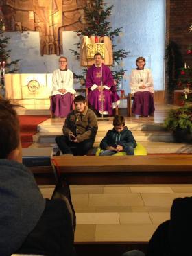 Familiengottesdienst im Advent 2018