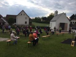 Maiandacht in Knölling