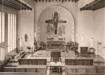 Postkarte der 'neuen' Kirche Herz-Jesu
