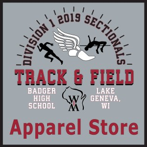 Badger Track & Field-Store Closed.