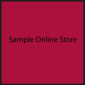 Sample Online Store-Store is opened until XXX.