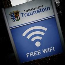 Free Wifi, Traunstein