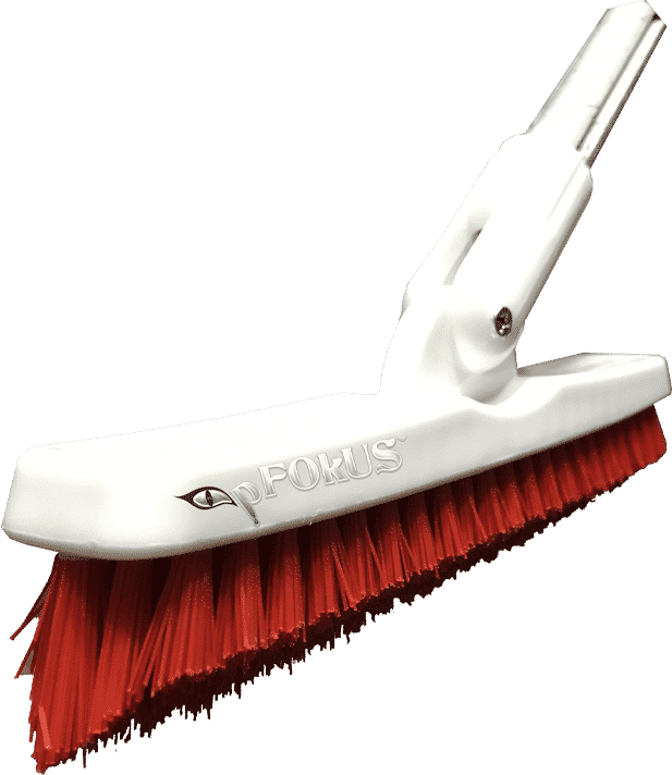 grout cleaning brush with chemical