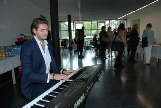 Musik zum Ausklang: Vinzenz Heinze