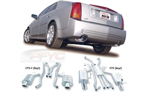 borla cat back exhaust system for 2004 2007 cts v 140126