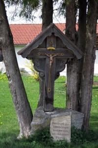Flurkreuz in Osterried