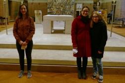 Birgit Brücklmayr mit Pia und Simone aus Mauerstetten