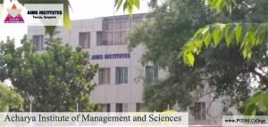 Acharya Institute of Management and Sciences - Bangalore