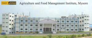 Agriculture and Food Management Institute - Mysuru
