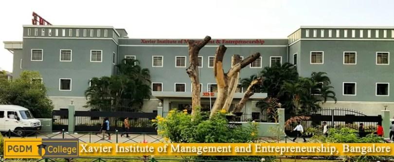 XIME Bangalore campus