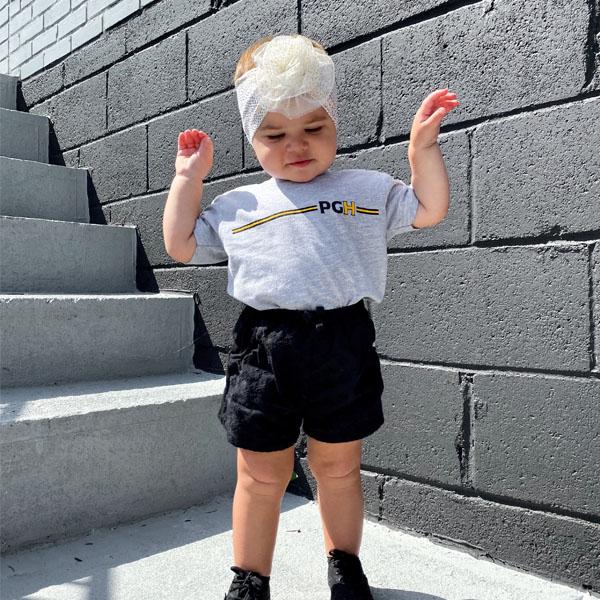 Gray Toddler T-Shirt