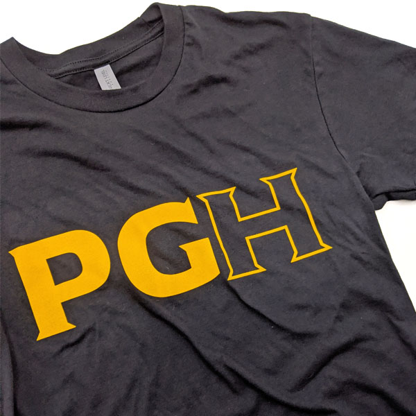 PGH Black and Gold TShirt