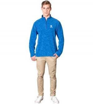 Energi Sweater - Avail in: Melange Blue