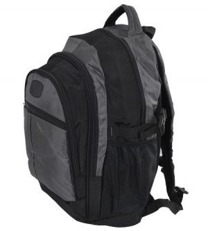 Leisure Backpack - Avail in: Black/Red