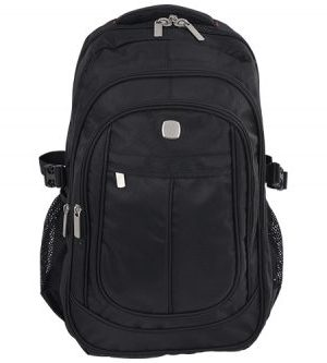 Windsor Laptop Backpack - Avail in: Black
