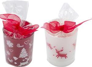 Christmas Candle Holder With Tea Light