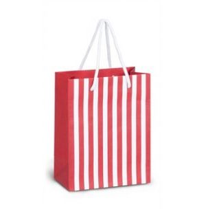 Candy Cane Mini Gift Bag - Christmas