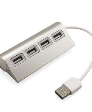 4 in 1 Usb Hub - Silver