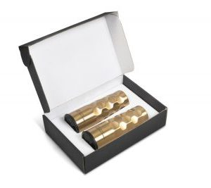 Meteor Tumbler Gift Set - Avail in Gold or Silver