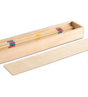 Pick Up Sticks In Wooden Box