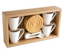 Bamboo Espresso Set