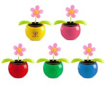 Moving Solar Flower pot