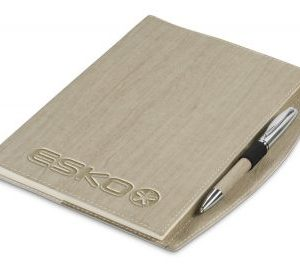 Oakridge Arc Notebook - Avail in Beige or Brown