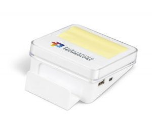 Desk Pro Sticky Notes & USB Hub