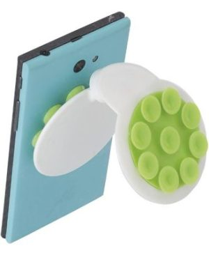 Mobile Phone Holder with Coloured Suction Cups